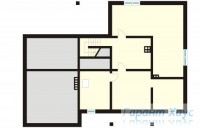 78-proekt.ru - Проект Одноквартирного Дома №5.  План Подвала
