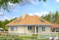 78-proekt.ru - Проект Одноквартирного Дома №149.  Вид №2