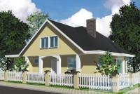 Проект одноквартирного дома № 206