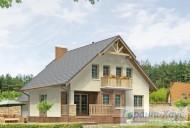 78-proekt.ru - Проект Одноквартирного Дома №226.  Вид №2