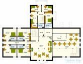 78-proekt.ru - Проект Гостиницы №1.  План Второго Этажа