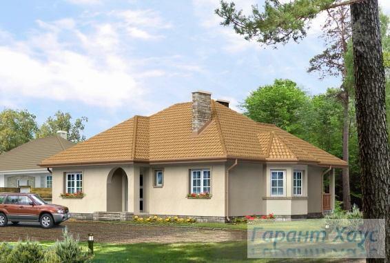 Проект одноквартирного дома № 232