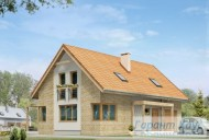 78-proekt.ru - Проект Одноквартирного Дома №176.  Вид №1
