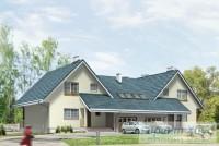 Проект двухквартирного дома № 4