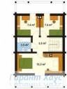 78-proekt.ru - Проект Одноквартирного Дома №153.  План Второго Этажа