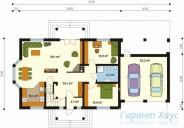 78-proekt.ru - Проект Одноквартирного Дома №31.  План Первого Этажа