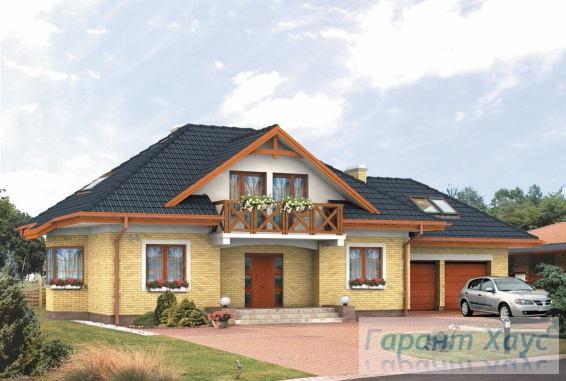 Проект одноквартирного дома № 155