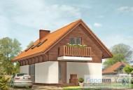 78-proekt.ru - Проект Одноквартирного Дома №332.  Вид №1