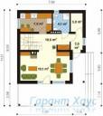 78-proekt.ru - Проект Одноквартирного Дома №289.  План Первого Этажа