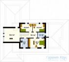 78-proekt.ru - Проект Одноквартирного Дома №78.  План Второго Этажа