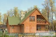 78-proekt.ru - Проект Одноквартирного Дома №273.  Вид №2