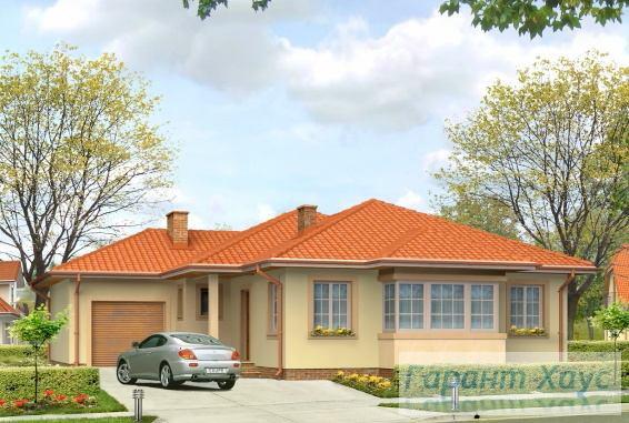 Проект одноквартирного дома № 203