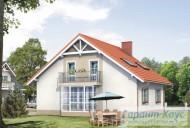 78-proekt.ru - Проект Одноквартирного Дома №57.  Вид №2