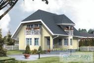 78-proekt.ru - Проект Одноквартирного Дома №151.  Вид №2