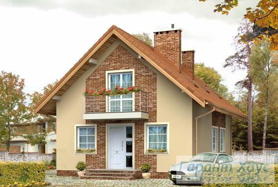 Проект одноквартирного дома № 161
