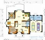 78-proekt.ru - Проект Одноквартирного Дома №35.  План Первого Этажа