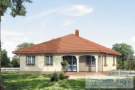 78-proekt.ru - Проект Одноквартирного Дома №336.  Вид №2