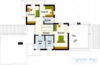 78-proekt.ru - Проект Одноквартирного Дома №12.  План Второго Этажа