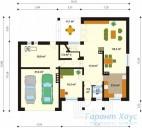 78-proekt.ru - Проект Одноквартирного Дома №4.  План Первого Этажа
