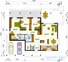 78-proekt.ru - Проект Одноквартирного Дома №277.  План Первого Этажа