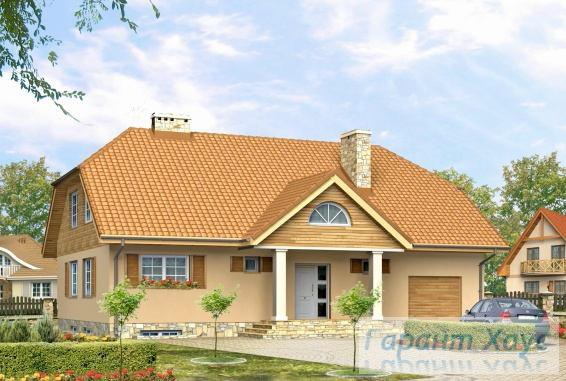 Проект одноквартирного дома № 205