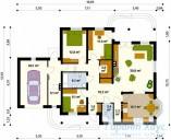 78-proekt.ru - Проект Одноквартирного Дома №338.  План Первого Этажа