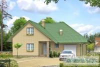 Проект одноквартирного дома № 327