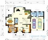 78-proekt.ru - Проект Одноквартирного Дома №33.  План Первого Этажа
