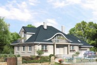 78-proekt.ru - Проект Одноквартирного Дома №325.  Вид №1