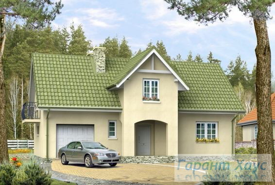 Проект одноквартирного дома № 225
