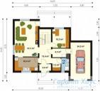 78-proekt.ru - Проект Одноквартирного Дома №81.  План Первого Этажа