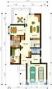 78-proekt.ru - Проект Одноквартирного Дома №245.  План Первого Этажа