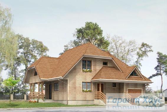 Проект одноквартирного дома № 28