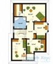 78-proekt.ru - Проект Одноквартирного Дома №315.  План Второго Этажа