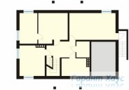 78-proekt.ru - Проект Одноквартирного Дома №205.  План Подвала