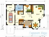 78-proekt.ru - Проект Одноквартирного Дома №141.  План Первого Этажа