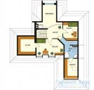 78-proekt.ru - Проект Одноквартирного Дома №97.  План Второго Этажа