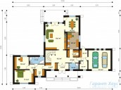 78-proekt.ru - Проект Одноквартирного Дома №241.  План Первого Этажа