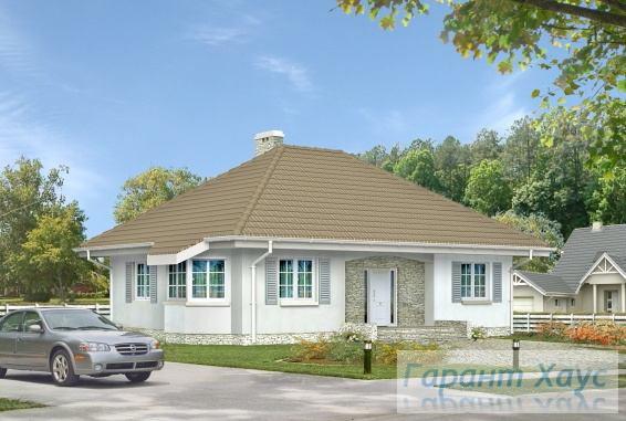 Проект одноквартирного дома № 122