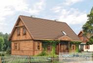 78-proekt.ru - Проект Одноквартирного Дома №278.  Вид №1