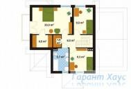 78-proekt.ru - Проект Одноквартирного Дома №227.  План Второго Этажа