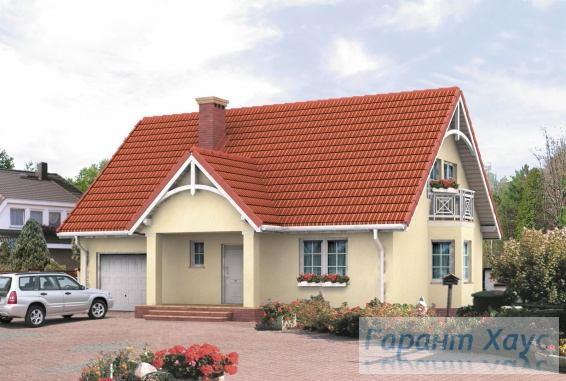 Проект одноквартирного дома № 231