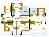 78-proekt.ru - Проект Одноквартирного Дома №37.  План Второго Этажа