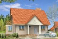 78-proekt.ru - Проект Одноквартирного Дома №275.  Вид №1