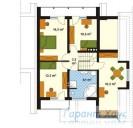 78-proekt.ru - Проект Одноквартирного Дома №306.  План Второго Этажа