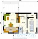78-proekt.ru - Проект Одноквартирного Дома №177.  План Первого Этажа