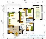 78-proekt.ru - Проект Одноквартирного Дома №337.  План Первого Этажа