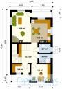 78-proekt.ru - Проект Одноквартирного Дома №166.  План Первого Этажа