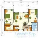 78-proekt.ru - Проект Дачного Дома №4.  План Первого Этажа