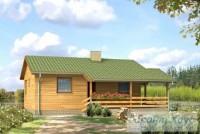 Проект дачного дома № 2